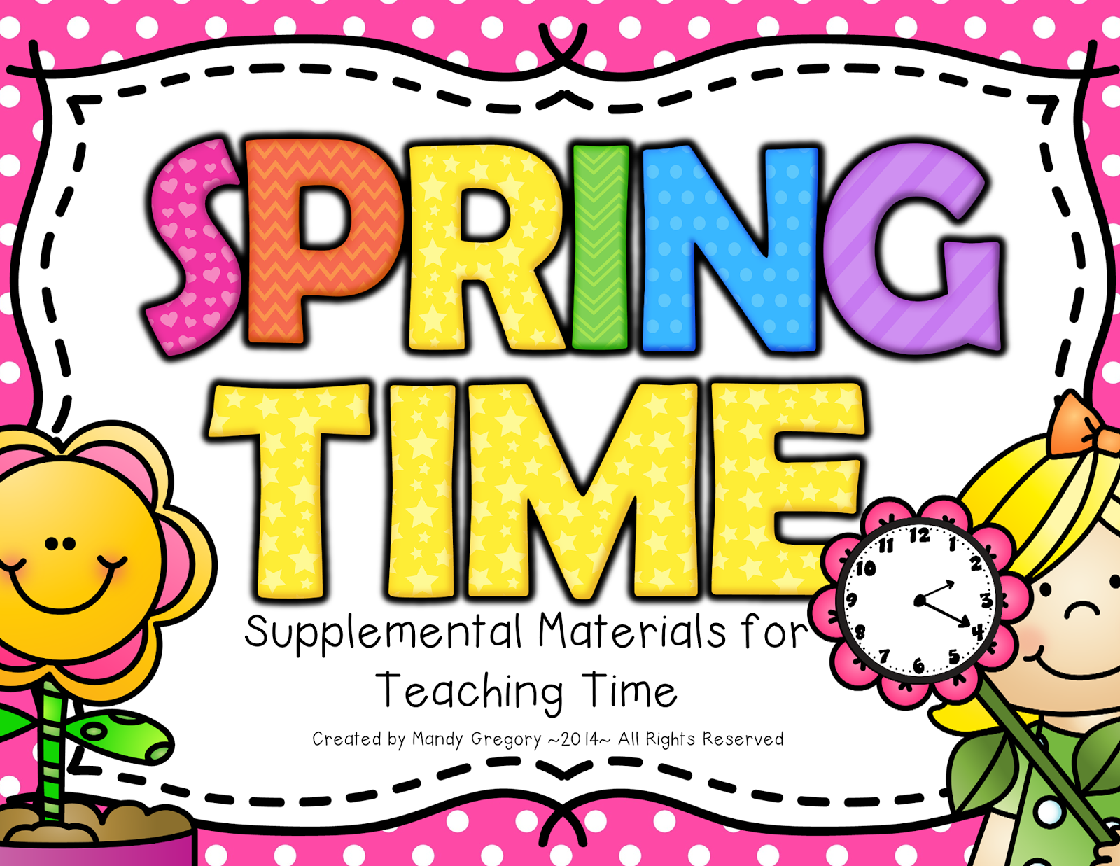 https://www.teacherspayteachers.com/Product/Spring-Time-Supplemental-Materials-for-Teaching-Time-1188352