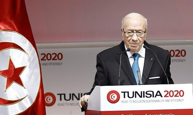 El presidente tunecino Beji Caid Essebsi