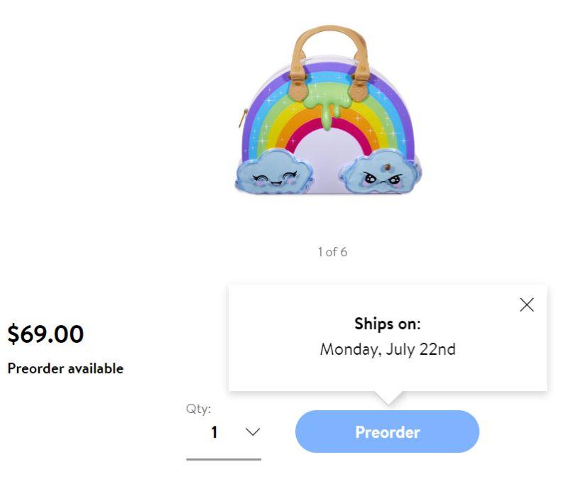Цена Poopsie Chasmell Rainbow Slime Kit и дата выпуска