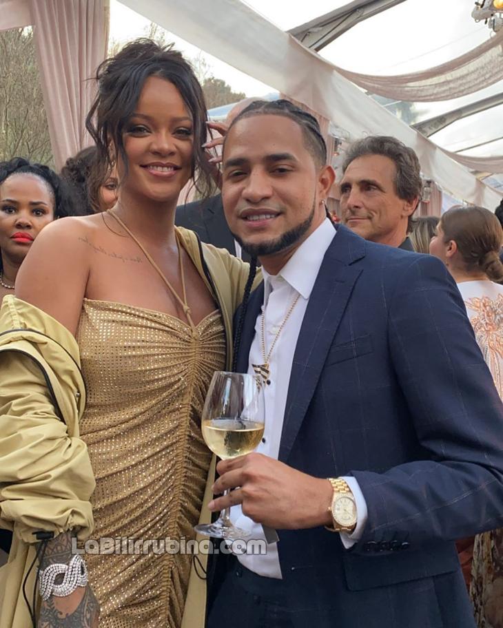 [Fotos] Mozart La Para chillin con Rihanna y Jay-Z
