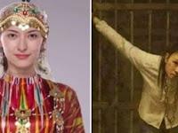 Beredar Viral! Foto Muslimah Cantik Uighur Disiksa dan Dibunuh Ternyata Cuma Lukisan