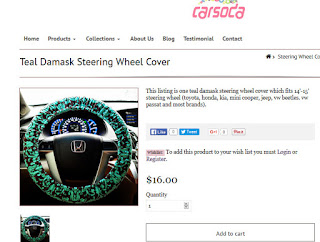 CarSoda.com - Girly Car Accessories