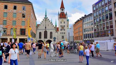 Marienplatz - Altes Rathaus