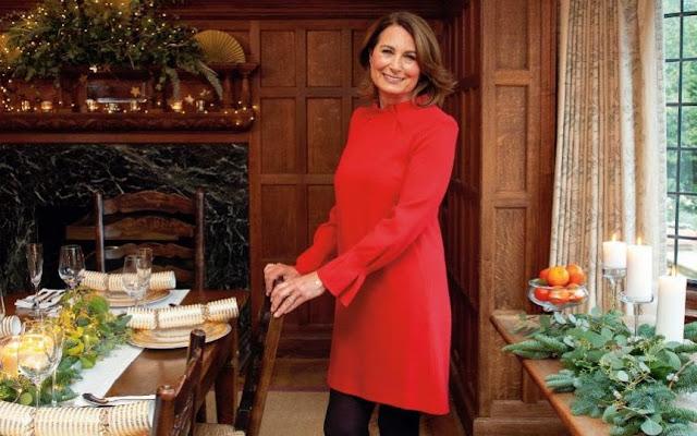 Kolejne fragmenty wywiadu z Carole Middleton - jak wyglądają święta u Middletonów + więcej