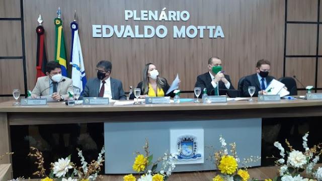 Câmara de Patos-PB define membros das comissões permanentes e provisórias