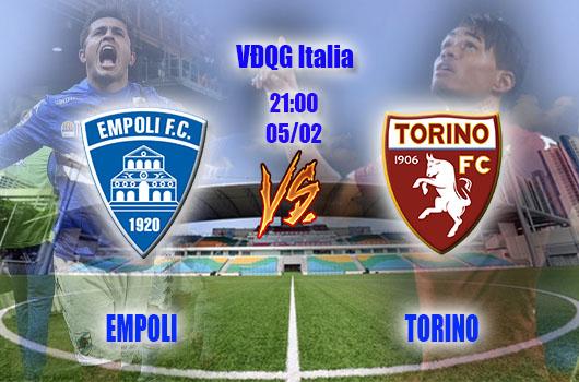 Nhận định bóng đá Empoli vs Torino, 21h00, ngày 05/02