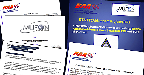 AAWSAP-BAASS-MUFON Document Collection 2008 - 2009