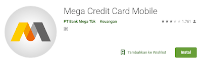 cek sisa limit kartu kredit bank mega
