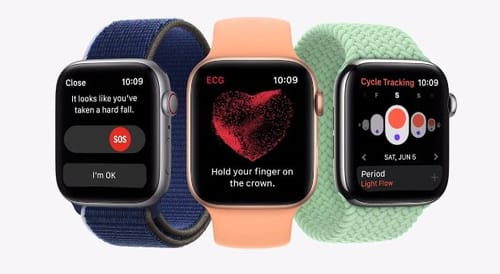 Apple announces new health features for watchOS 8