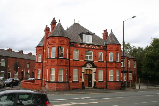 Pubs of manchester brown cow oldham road for H b bedrooms oldham