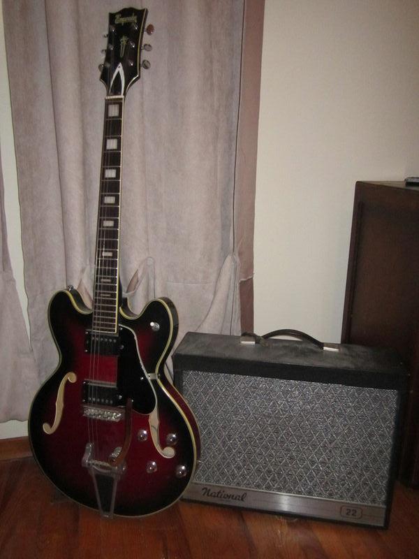 canadian vintage guitar hunt 1968 emperador archtop electric 1968 national tube amp. Black Bedroom Furniture Sets. Home Design Ideas