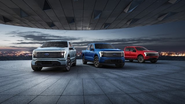 FORD F-150 LIGHTNING : ELECTRIC 2022 TRUCK