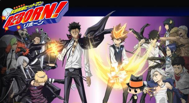 Daftar Film Anime Mirip Fairy Tail - Katekyou Hitman Reborn