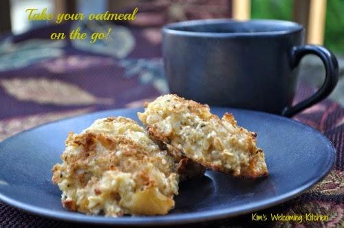 Applesauce Hemp Breakfast Cookies (Take Your Oatmeal On The Go!)