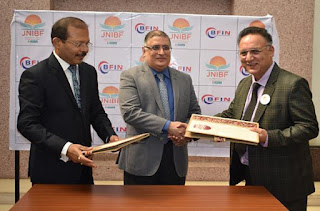 MOU Signing ceremony between JNIBF and BFIN, Nepal