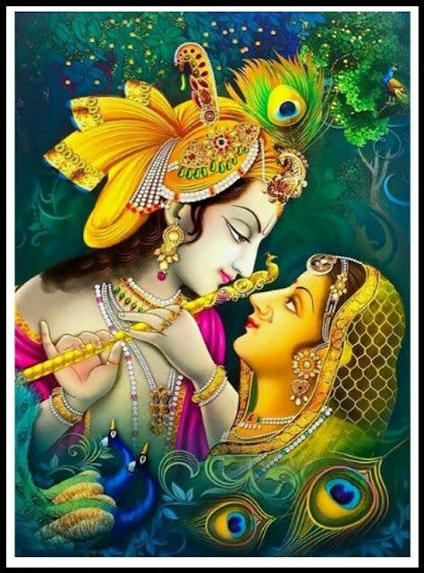 radha krishna art images Download