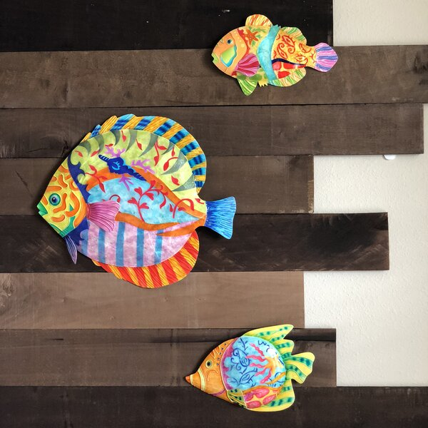 Fish Discus Wall Decor 2 of 2