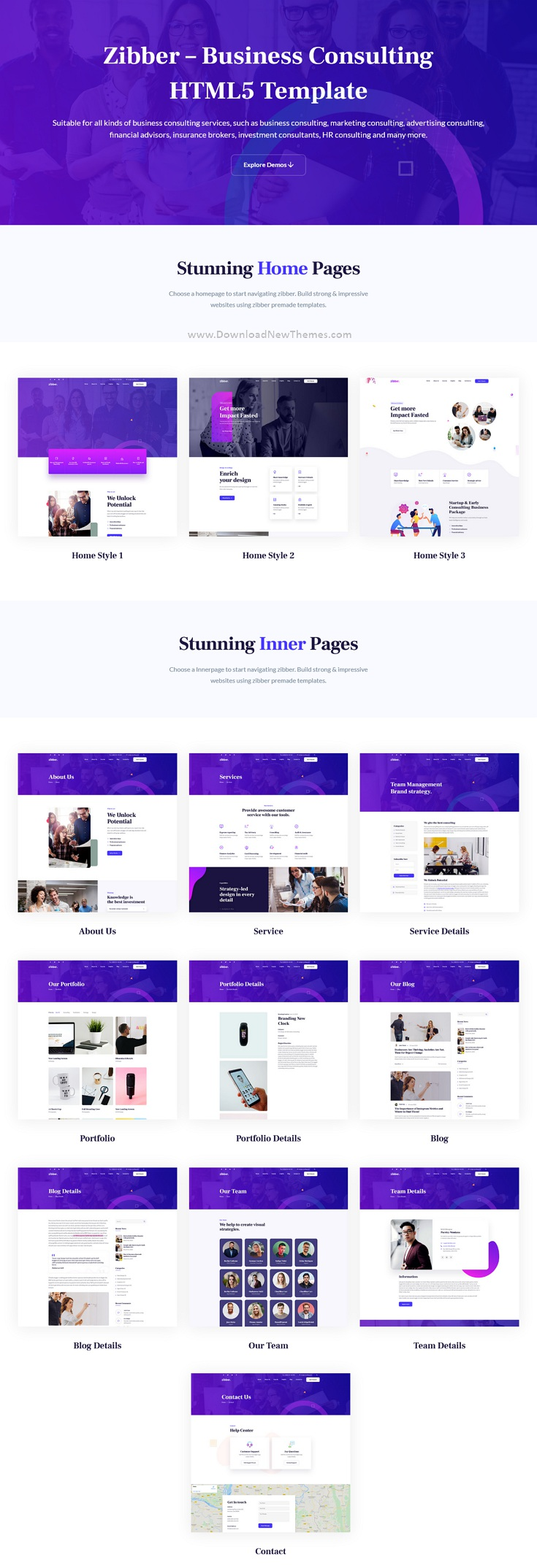 Business Consulting HTML5 Template