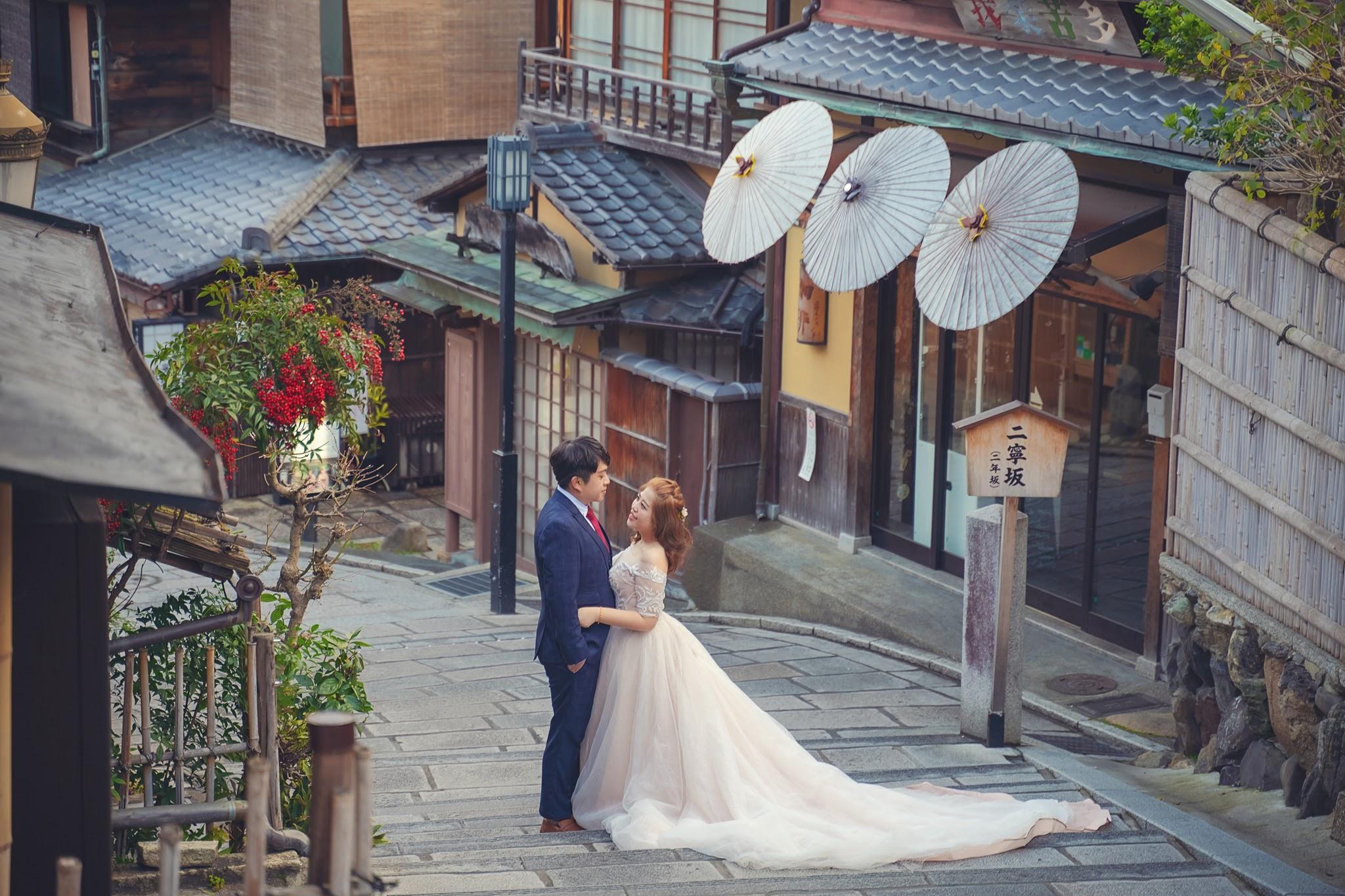 京都楓葉婚紗 二年版 日本京都遊玩 瑪朵婚紗 日本婚紗推薦 楓葉和服婚紗 清水寺 鴨川 嵐山 合掌村
