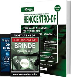 Apostila Hemocentro (FHB) Técnico de Atividades 2017