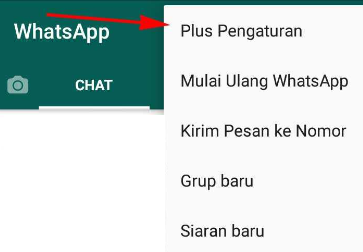 cara mengganti tema whatsapp