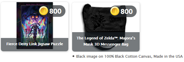 Club Nintendo Majora's Mask 3D Messenger Bag sucks