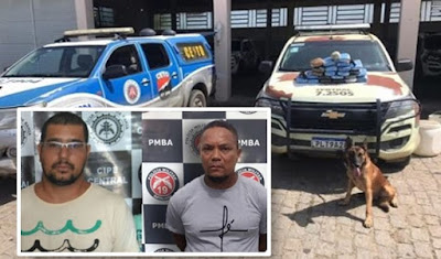 Jequié-BA: Dois indivíduos envolvidos com o tráfico morrem em confronto com a CIPE-CENTRAL