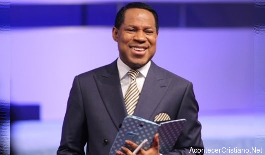 Pastor de la prosperidad Chris Oyakhilome de Sudáfrica