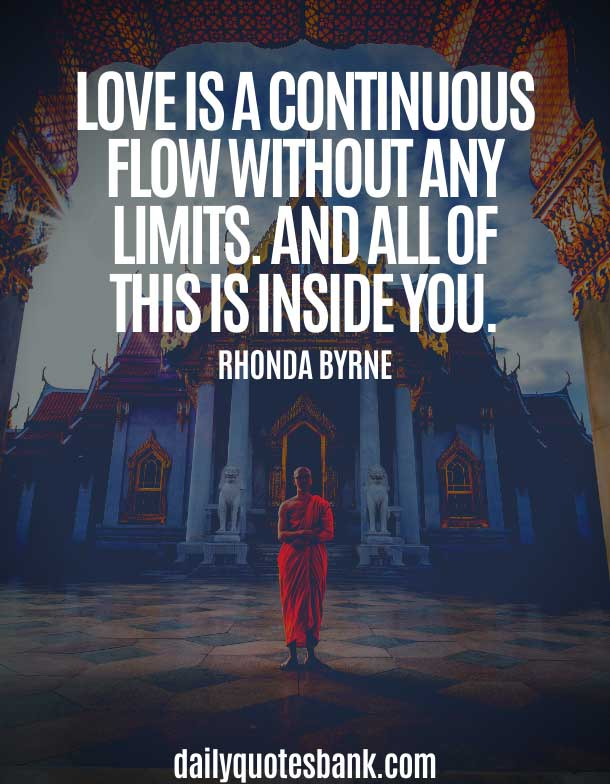 Rhonda Byrne Quotes On Love