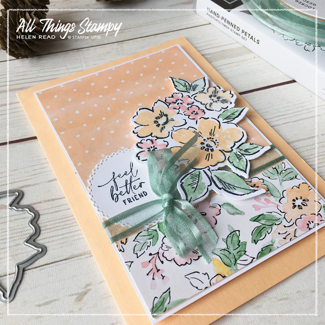 Stampin' Up! Hand-Penned Petals card ideas