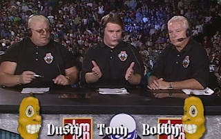 WCW HALLOWEEN HAVOC 96 REVIEW: Tony Schiavone, Dusty Rhodes, and Bobby Heenan hosted the event
