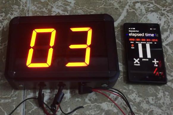 Đồng hồ led đếm ngược 2 số - Cty Ariston Bắc Ninh