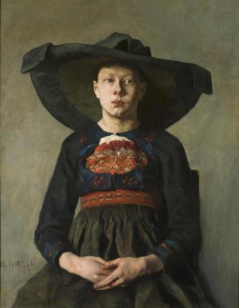 Hanna Pauli Баварская крестьянка