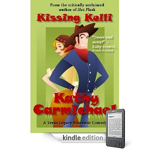 Kindle Nation Daily Free Book Alert, Monday, April 25: 6 Brand New Freebies This Morning! plus ... Just 99 cents for toe-curling kisses in this sweet romantic comedy: Kathy Carmichael's <i><b>Kissing Kelli</b></i> (Today's Sponsor)