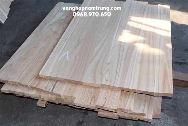 Gỗ ghép xoan làm mặt bàn, tủ gỗ và cửa gỗ xuất khẩu (solid 2m, 1.8m, 1.4m và 900mm)