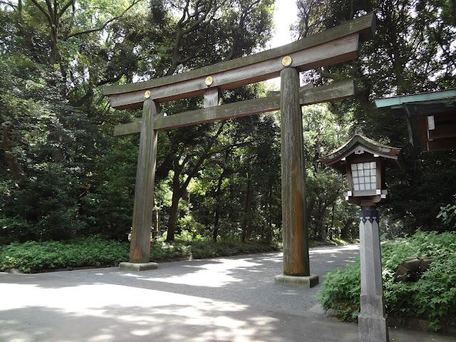 Entrada al templo Meiji