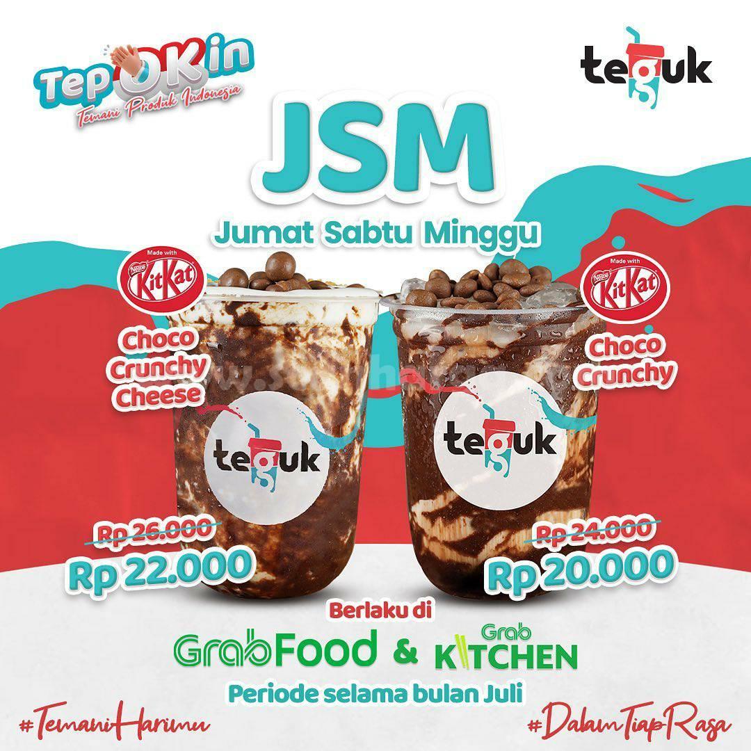 Promo JSM TEGUK Weekend (Beli KitKat Series harga mulai 20 Ribu)