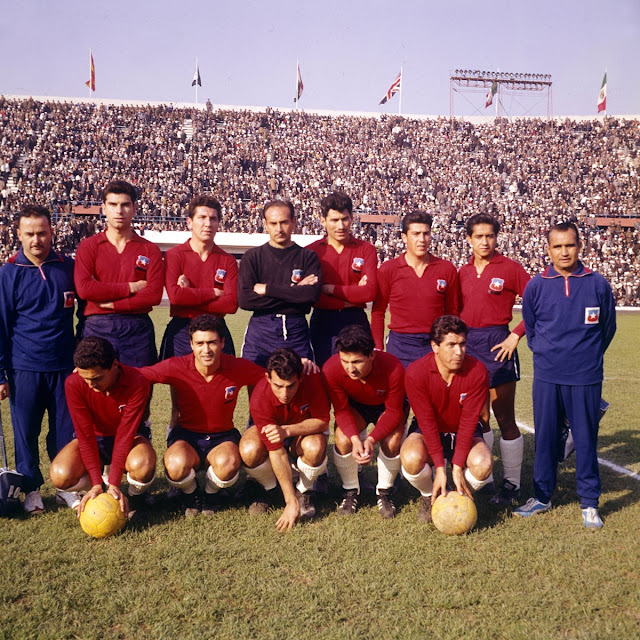 Selección chilena de fútbol en Copa del Mundo Chile 1962