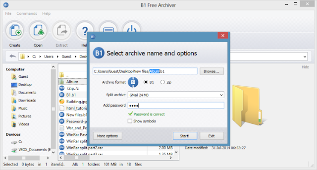 Download B1 Free Archiver