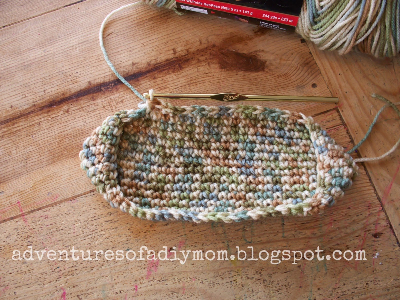 How To Crochet A Hotpad Super Easy Version Adventures Of A Diy Mom