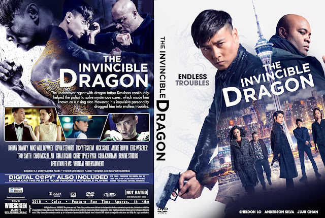 The Invincible Dragon DVD Cover