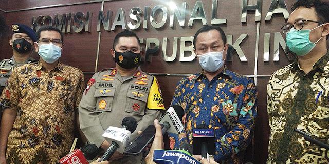 Investigasi Masih Berlangsung, Komnas HAM: Tidak Mudah Menyimpulkan Peristiwa KM 50 Japek