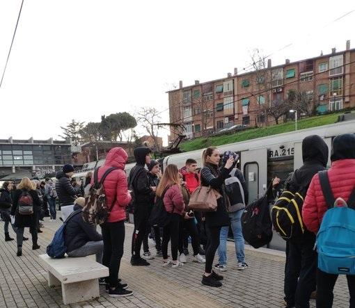 Prendere un treno sulla Roma-Lido