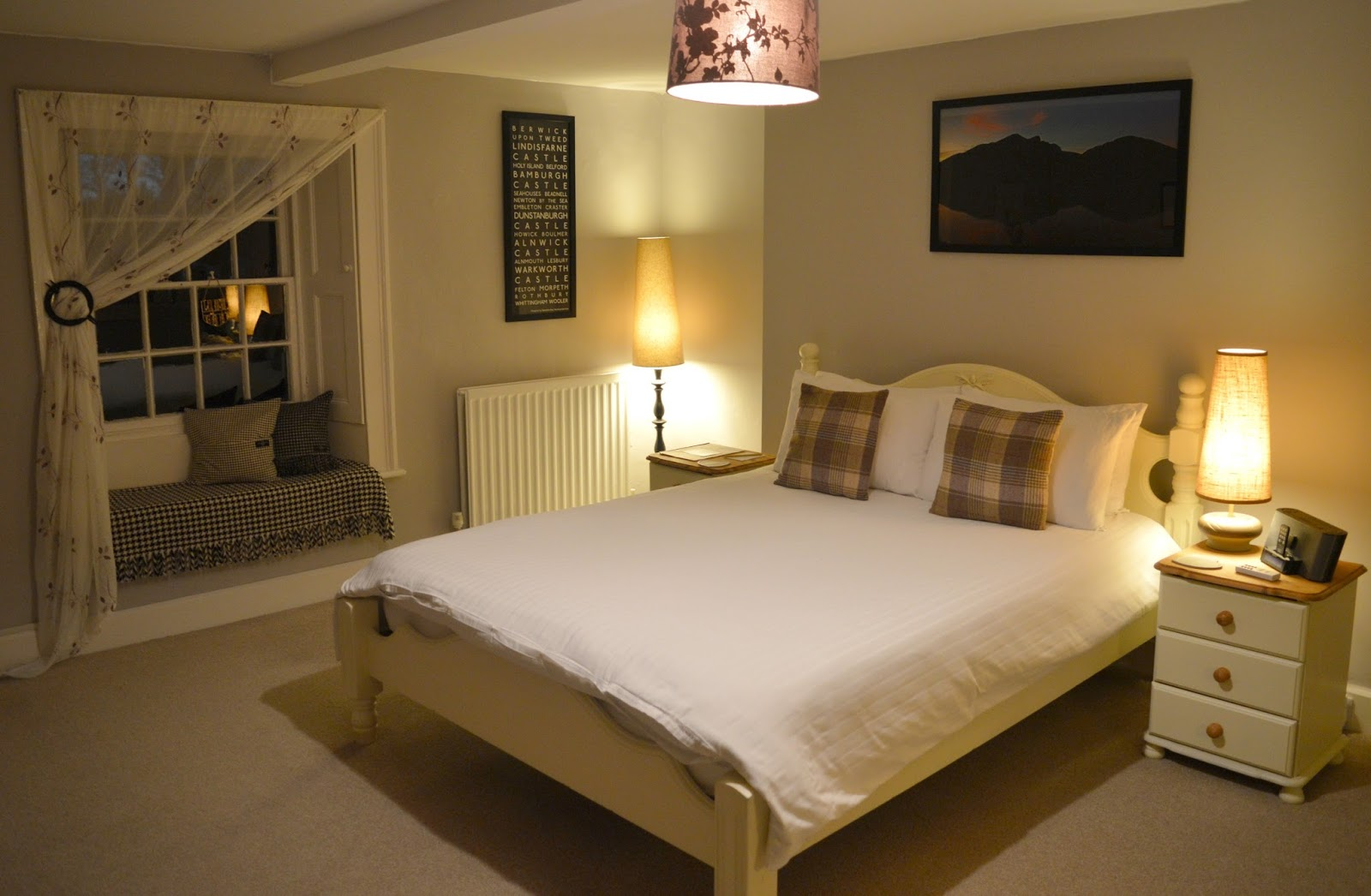 The Grange Bed and Breakfast in Northumberland - Northumberland Bedroom
