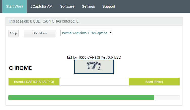 Tampilan Baru] Fitur Opsi Memilih Jenis Captcha di 2Captcha - Zonatyper