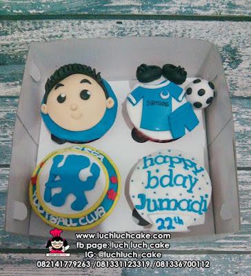 Cupcake Chelsea Fondant 2D