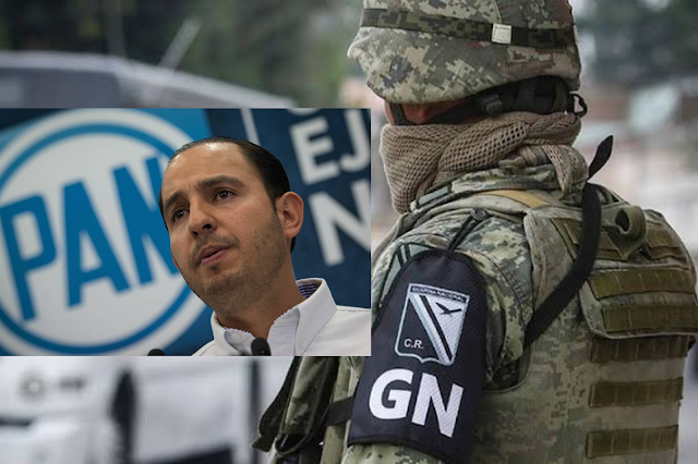La Guarda Nacional en manos del ejército es DICTADURA y pasó en VENEZUELA, revela el  PAN