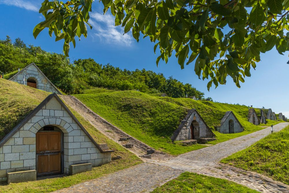 Wine Cellars of Hercegkút Hungary