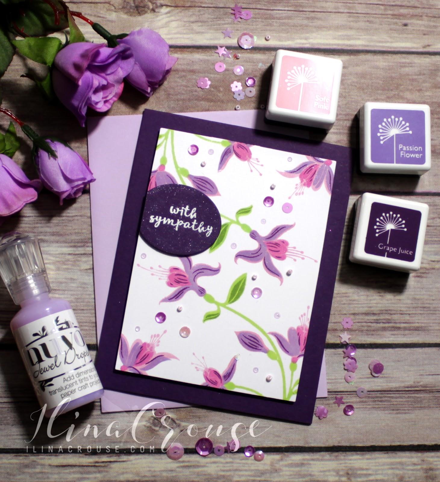 Hero Arts AF375 Rose Petals Hue Pack