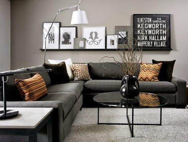Inspiracje w moim mieszkaniu szary salon gray living room for Naroznik cobra z living roomu